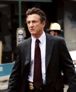 Sean Penn as detective Tobin Keller