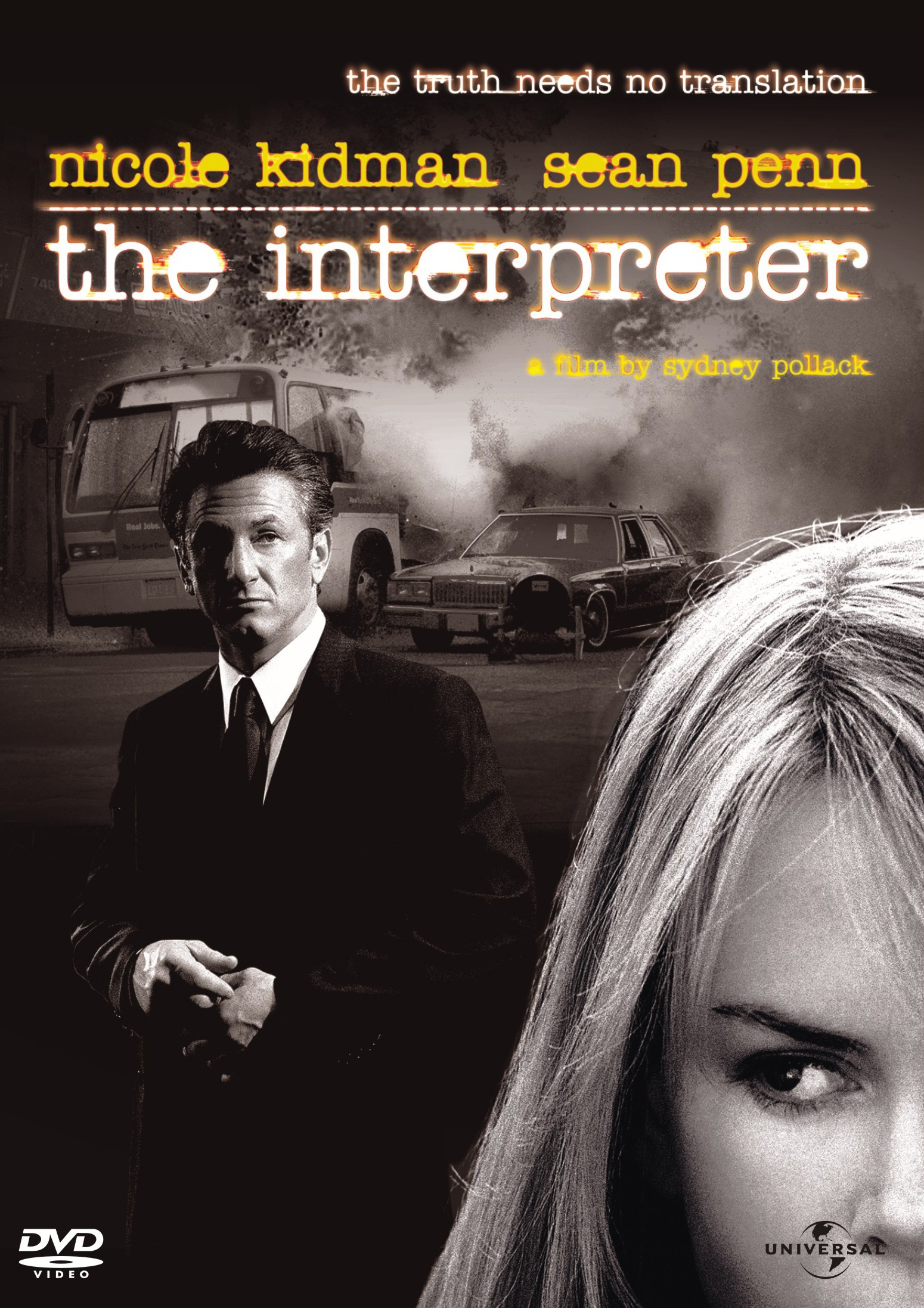 The Interpreter DVD cover