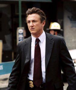 Sean Penn as detective Tobin Keller